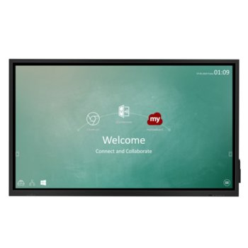 "Публичен дисплей ViewSonic IFP7530, 75"" (190.5 cm) 4K/UHD Touchscreen, DisplayPort, HDMI, USB, LAN image"
