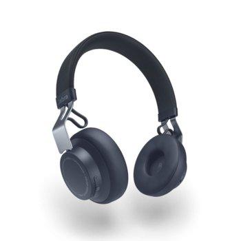 Слушалки Jabra Move, безжични, микрофон, до 14 часа с едно зареждане, сини image