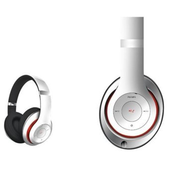 Слушалки Platinet Freestyle Headset FH0916, безжични, микрофон, бели image