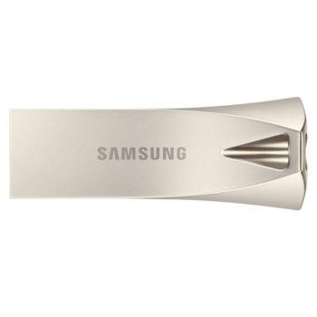 Памет 256GB USB Flash Drive, Samsung MUF-256BE3/APC, USB 3.1 Gen, сребриста image