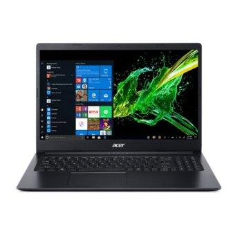 """Лаптоп Acer Aspire 3 A315-22 (NX.HE8EX.013_8GB), двуядрен AMD A4-9120e 1.5/2.20 GHz, 15.6"""" (39.62 cm) HD Anti-Glare Display, (HDMI), 8GB DDR4, 256GB SSD, 1x USB 3.1, No OS image"""