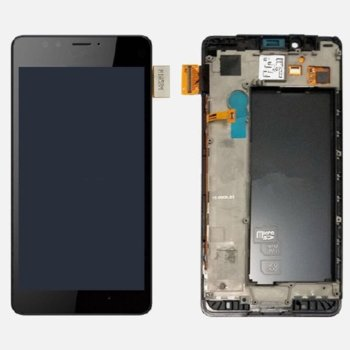 MS Lumia 950 LCD touch frame Black Original product