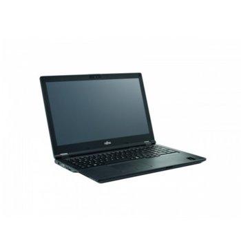 """Лаптоп Fujitsu LIFEBOOK E5510 (S26391-K500-V100_256_I7_W), четириядрен Comet Lake Intel i7-10510U 1.8/4.9 GHz, 15.6"""" (39.62 cm) Full HD LED IPS Display, (HDMI), 8GB DDR4, 256GB SSD, 1x USB 3.2 Type C, Windows 10 Pro image"""