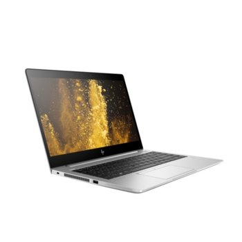 "Лаптоп HP EliteBook 840 G6 (6XD49EA)(сребрист), четириядрен Whiskey Lake Intel Core i7-8565U 1.8/4.6 GHz, 14.0"" (35.56 cm) Full HD Anti-Glare Display, (HDMI), 16GB DDR4, 512GB SSD, 1x Thunderbolt, Windows 10 Pro image"
