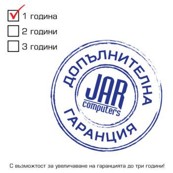 JAR warranty 1Y for JAR PCs product