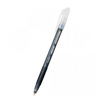 Химикал FlexOffice 025 Cyber черен, черно мастило, 0.5 mm (опаковка от 12бр.) image