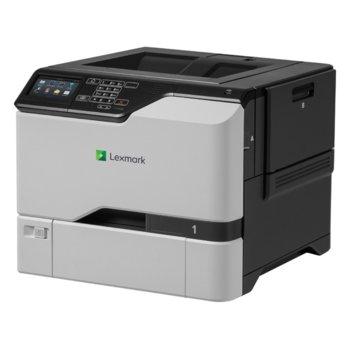 Лазерен принтер Lexmark CS725de, цветен, 1200x1200 dpi, 47/47стр/мин, LAN, USB image