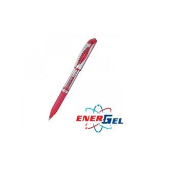 Ролер Pentel Energel BL57, червен цвят на писане, дебелина на линията 0.7 mm, гел, червен, цената е за 1бр. (продава се в опаковка от 12бр.) image