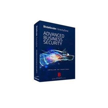 Софтуер Bitdefender GravityZone Advanced Business Security, 50 - 99 потребителя, 1 година image