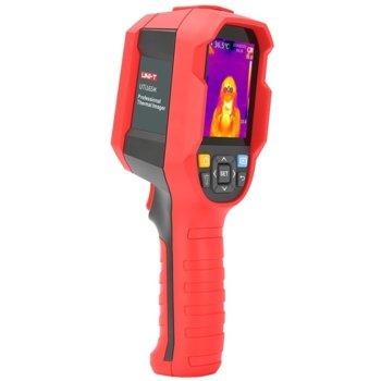 "Термовизионна камера UNI-T UTi165K, 2.8"" (7.11 cm) TFT дисплей, индикаторна лампа, аларма при висока температура, между 30 и 45 градуса, червена image"