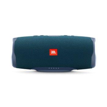 Тонколона JBL Charge 4, 2.0, 30W RMS, безжична, Bluetooth/AUX, синя, IPX7, до 20 часа работа image