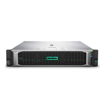 Сървър HPE DL380 G10 (P06421-B21), десетядрен Intel® Xeon® Scalable 4114 2.2GHz, 32GB DDR4 RDIMM, 4x 1GbE, 5x USB 3.0, 2x HPE 800W захранване image