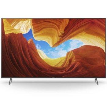 """Телевизор Sony KE55XH9096BAEP, 55"""", 4K/UHD HDR Smart TV, DVB-C/T/T2/S/S2, Wi-fi, Bluetooth, 3x HDMI, 2x USB, черен image"""