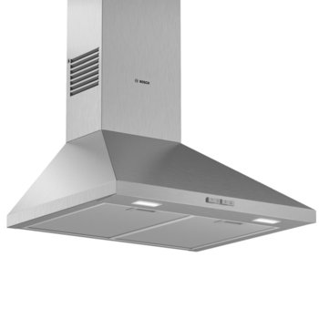 Абсорбатор Bosch DWP64BC50, свободностоящ, колонен, енергиен клас C, 3 степени на мощност, стенен тип, въздухопоток 360 m³/h, инокс image