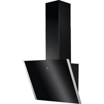 Абсорбатор Electrolux EFV60657OK (ST), за вграждане, C, 550 m³/h, 2 брой мотори, черен image