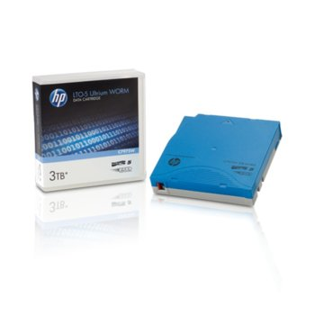 Aрхивиращo устройствo, HP C7975W, LTO-5 Ultrium, 12.65 mm/846 m, 3TB WORM image