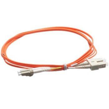 Оптичен пач кабел Atel, LC/PC(м) към SC/PC(м), OM2, 50/125, мулти мод, 3m image