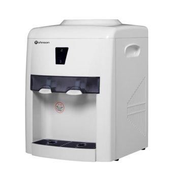 Диспенсър за вода Rohnson R-9701, защита от претоварване, 420W нагревател, автоматичен термостат, бял image