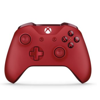Геймпад Microsoft Wireless Controller, безжичен, за Xbox One, червен image