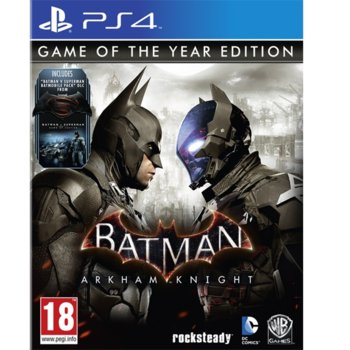 Игра за конзола Batman: Arkham Knight Game Of the Year Edition, за PS4 image