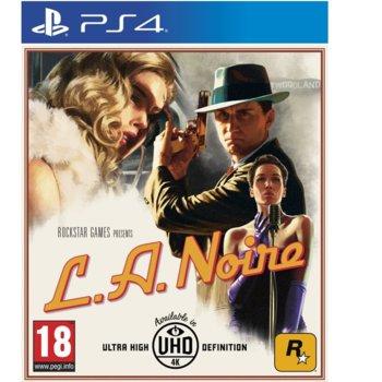 Игра за конзола L.A. Noire, за PS4 image