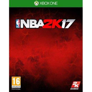 Игра за конзола NBA 2K17, за Xbox One image