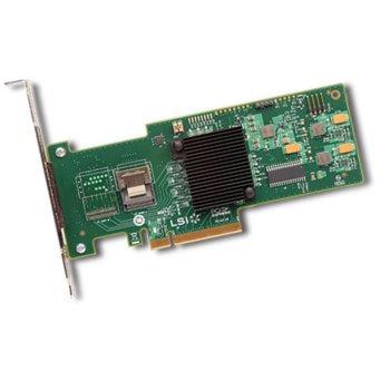 RAID Контролер PCI-E x8, LSI MegaRAID SAS 9240-4i Sgl, SAS/SATA3, (RAID 0,1,5,10 and 50) image