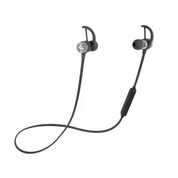 Слушалки Audictus Adrenaline 2.0 Silver ABE-1266, безжични, микрофон, Bluetooth 4.1, до 5 часа време на работа, IPX4 водоустойчиви, черни image