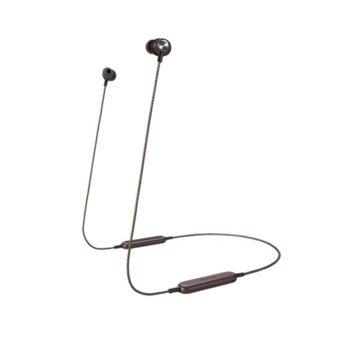 Слушалки Panasonic RP-HTX20BE, безжични, микрофон, Bluetooth, червени image