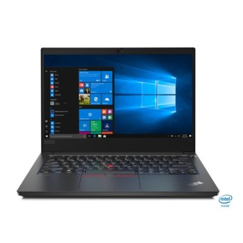"Лаптоп Lenovo ThinkPad Edge E14 (20RA001XBM/3), четириядрен Comet Lake Intel Core i5-10210U 1.6/4.2 GHz, 14.0"" (35.56 cm) Full HD IPS Anti-Glare Display, (HDMI), 8GB, 512GB SSD, 1x USB 3.1 Type-C, Windows 10 Pro image"