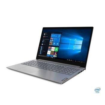"Лаптоп Lenovo ThinkBook 15-IIL (20SM0040BM/2)(сив), двуядрен Ice Lake Intel Core i3-1005G1 1.2/3.4 GHz, 15.6"" (39.62 cm) Full HD Anti-Glare Display, (HDMI), 8GB DDR4, 512GB SSD, 1x USB 3.1 Type C, Free DOS image"