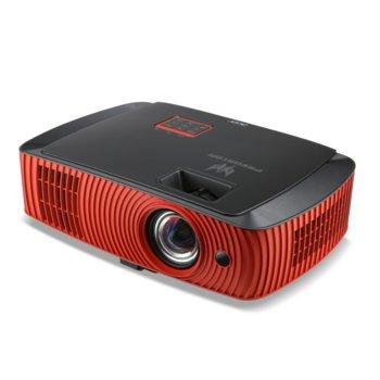 Проектор Acer Predator Z650 (MR.JMS11.001) в пакет с чанта и 2x 3D очила, DLP, 3D Ready, WUXGA, 20 000:1, 2200lm, HDMI, Composite, VGA, USB, RS232 image