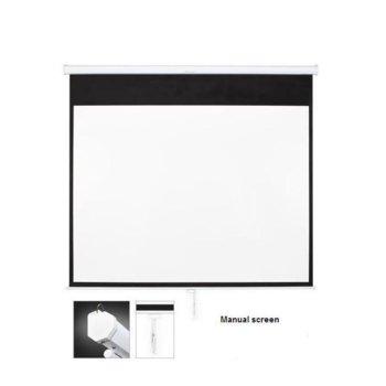 Екран OMB SF100MMV, за стена, Matte White, 203 x 152, 4:3 image