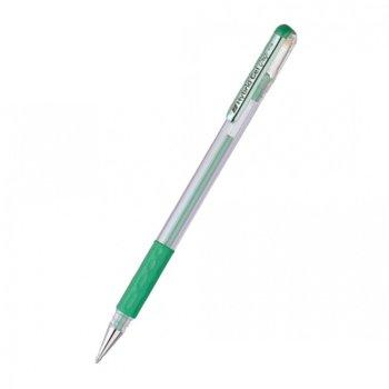 Ролер Pentel Hybrid METAL K118M, дебелина на писане 0.8mm, цвят на писане зелен image