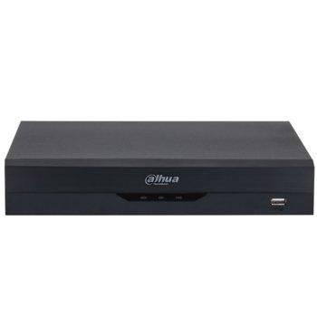 Хибриден видеорекордер Dahua XVR5108HS-I2, 8 канален, AI Coding/H.265+/H.265/H.264+/H.264, 1x SATA(до 1x 10TB), 2x USB 2.0, 1x LAN10/100, 1x HDMI, 1x VGA, 1x RS485 image