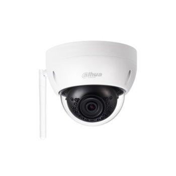 IP камера Dahua IPC-HDBW1235E-W-0360B, куполни камери, 2Mpx (1920x1080@25fps), 3.6mm обектив, H.265/H.264H/MJPEG, осветеност (до 30m), външна, IP67, IK10, RJ-45 image