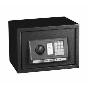 Сейф Crown ES-25, 35 x 25 x 25 cm, черен image