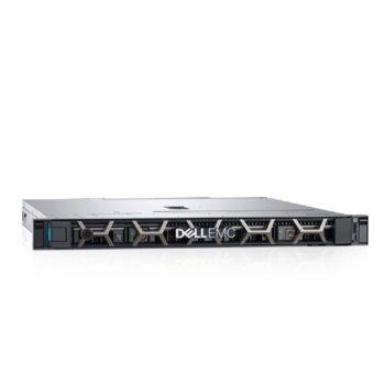 Сървър Dell PowerEdge R240 (PER240CEE02_1), четириядрен Coffee Lake Intel Xeon E-2124 3.3/4.3 GHz, 16GB DDR4 ECC UDIMM, без твърд диск, 2x GbE LOM, 3x USB 3.0, без OS, 250W image