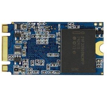 Памет SSD 128GB, Prestigio PRESTIGIOSSD128, SATA III 6Gbps, M.2 (2242) image