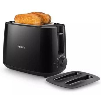 Тостер Philips HD2582/90, 8 степени, настройка за размразяване, 900W, черен image