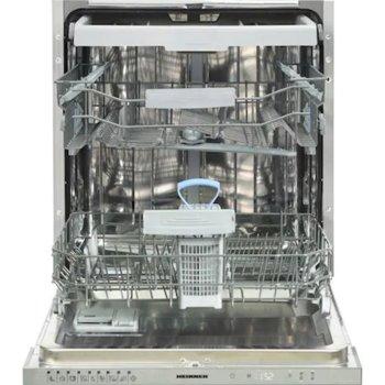 Съдомиялна за вграждане Heinner HDW-BI6093TE++, клас E, 15 комплекта, 9 програми, защита от протичане, индикатор за сол, отложен старт, цикъл с половин зареждане, подвижен горен рафт, индикатор за ниво на изплакване, бяла image