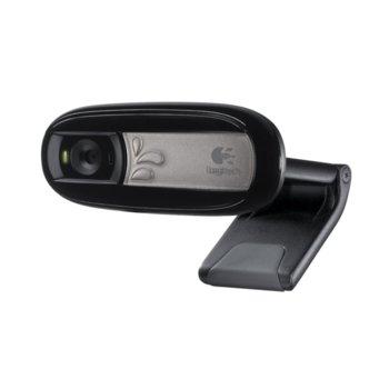 Уеб камера Logitech C170, черна, микрофон product