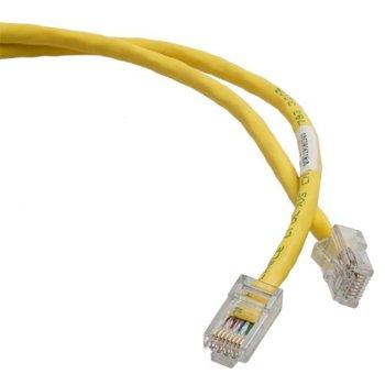Пач кабел UTP 1m NetKey Cat 5E жълт RoHS complaint image