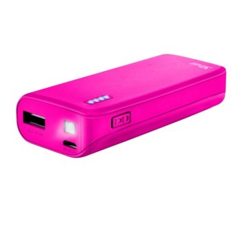 TRUST Primo Power Bank 4400 22059 Neon Pink product