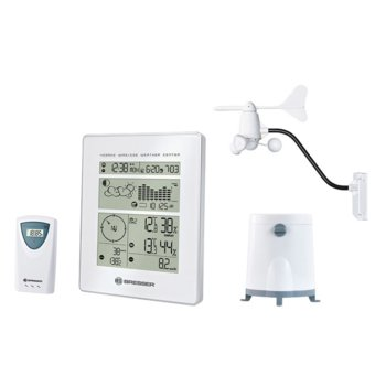 Метеорологична станция Bresser RC бяла product