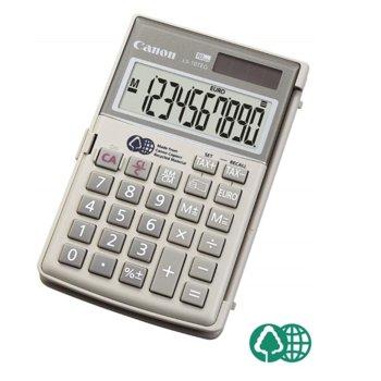 Калкулатор Canon LS-10TEG, LCD дисплей, 10 цифрен, сив image