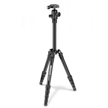 Трипод Manfrotto Element Traveller Tripod, мин/макс. височина 36-143 cm, 4 кг. товароносимост, алуминий, черен image