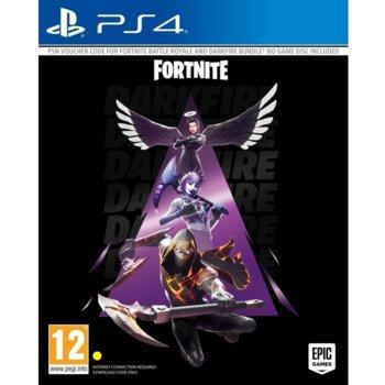 Допълнение към игра за конзола Fortnite - Darkfire Bundle, за PS4 image