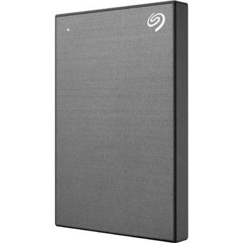 """Твърд диск 1TB Seagate Backup Plus Slim (сив), външен, 2.5"""" (6.35 cm), USB 3.0 image"""