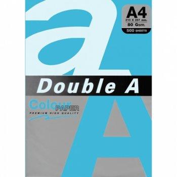 Хартия Double A 32407, A4, 80 g/m2, 500 листа, син image